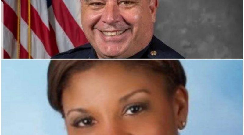 Gentry installed as interim LMPD chief effective October 1, 2020 (Brad Harrison, Facebook)
